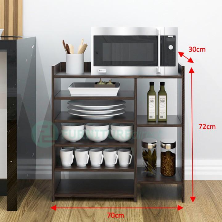 BRUNO 5 tier Microwave oven kitchen rack/ kabinet dapur/ rak dapur/ rak oven/ rak microwave