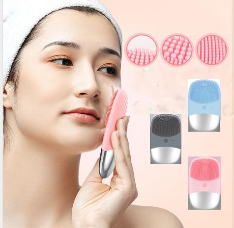 GDeal Sonic Deep Massage Face Washing Instrument Delicated Soft Silicon Face Washing Instrument