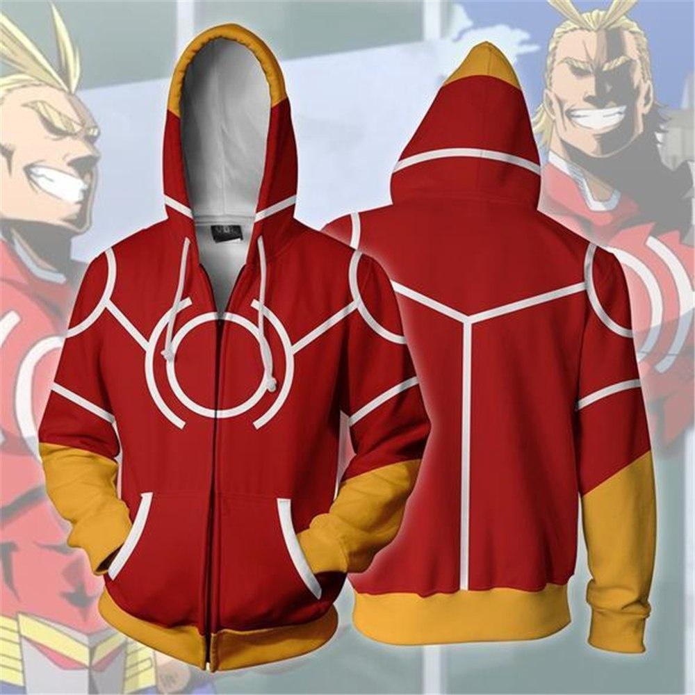 3ede1de8d My Hero Academia Cosplay Costumes All Might Sweatshirt Hoodie School  Uniforms | Shopee Malaysia