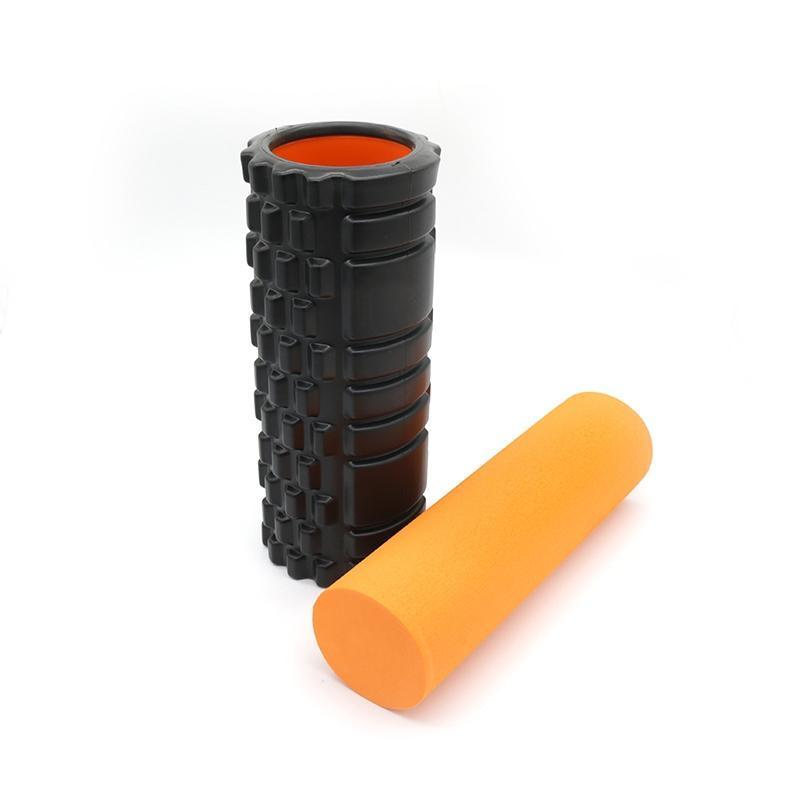 Yoga Foam Roller 2 in 1 Fitness Roller Support EVA Foam