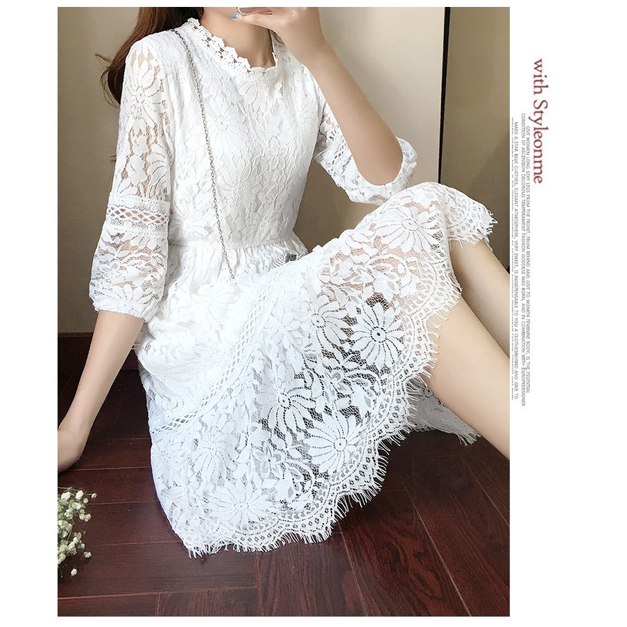 Lace Office Wear Designer Dress Elegant Going Out Best White Dresses For Women Shopee Malaysia,Simple Living Room Designs Indian Style