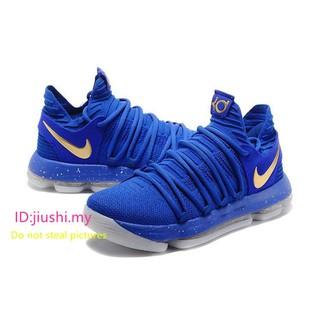 premium selection e802c 95cd4 ... All-New Nike KD 10 PE NBA Finals Game 1 Royal Blue Metallic Gold. like   0