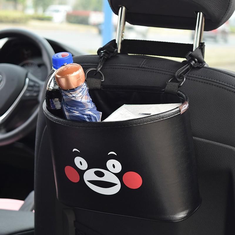 Car Decor X Cartoon Cute Seat Back Storage Bag