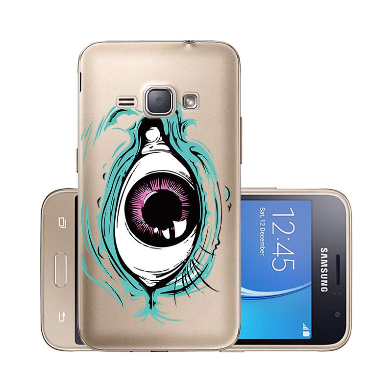 Samsung Galaxy J1 2016 J120F Cover Carbon Fiber Soft TPU Phone Case