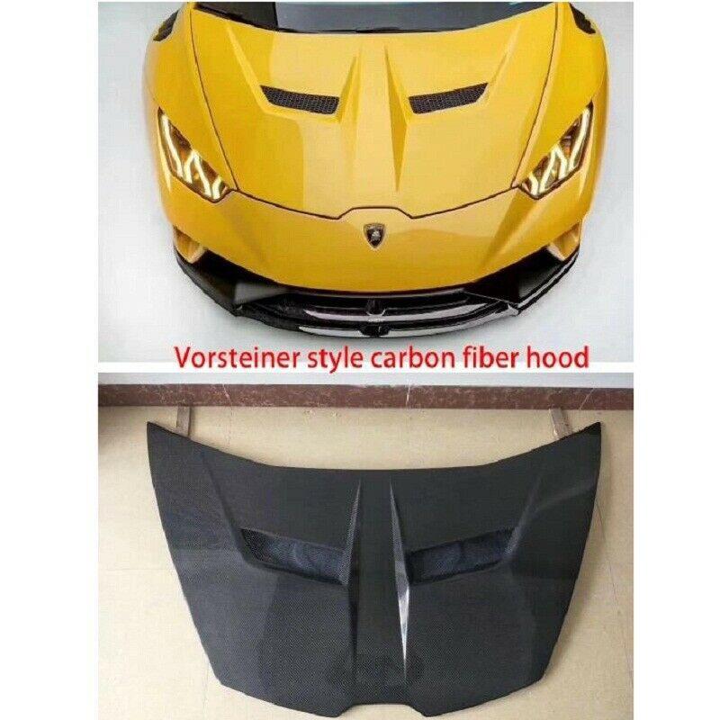 for Lamborghini Huracan LP610-4 Carbon Fiber rear fender intake scoop trim cover
