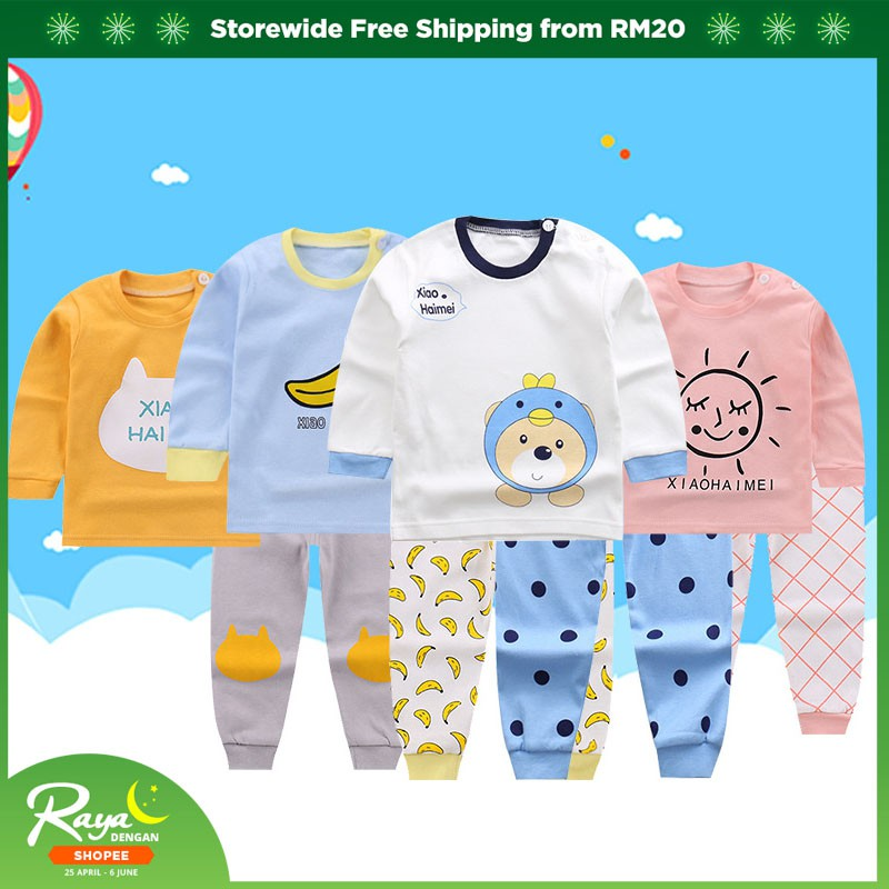 23dcbb2a94bb7 Winter and Autumn Warm Newborn Baby Wear Clothes | Shopee Malaysia