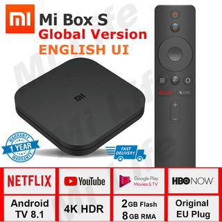 MECOOL M8S PLUS DVB Android TV BOX + DVB-S/S2/S2X Set-top Box Android 7 1  Amlogic S905D Quad-core 1GB+8GB 4K WiFi LAN H