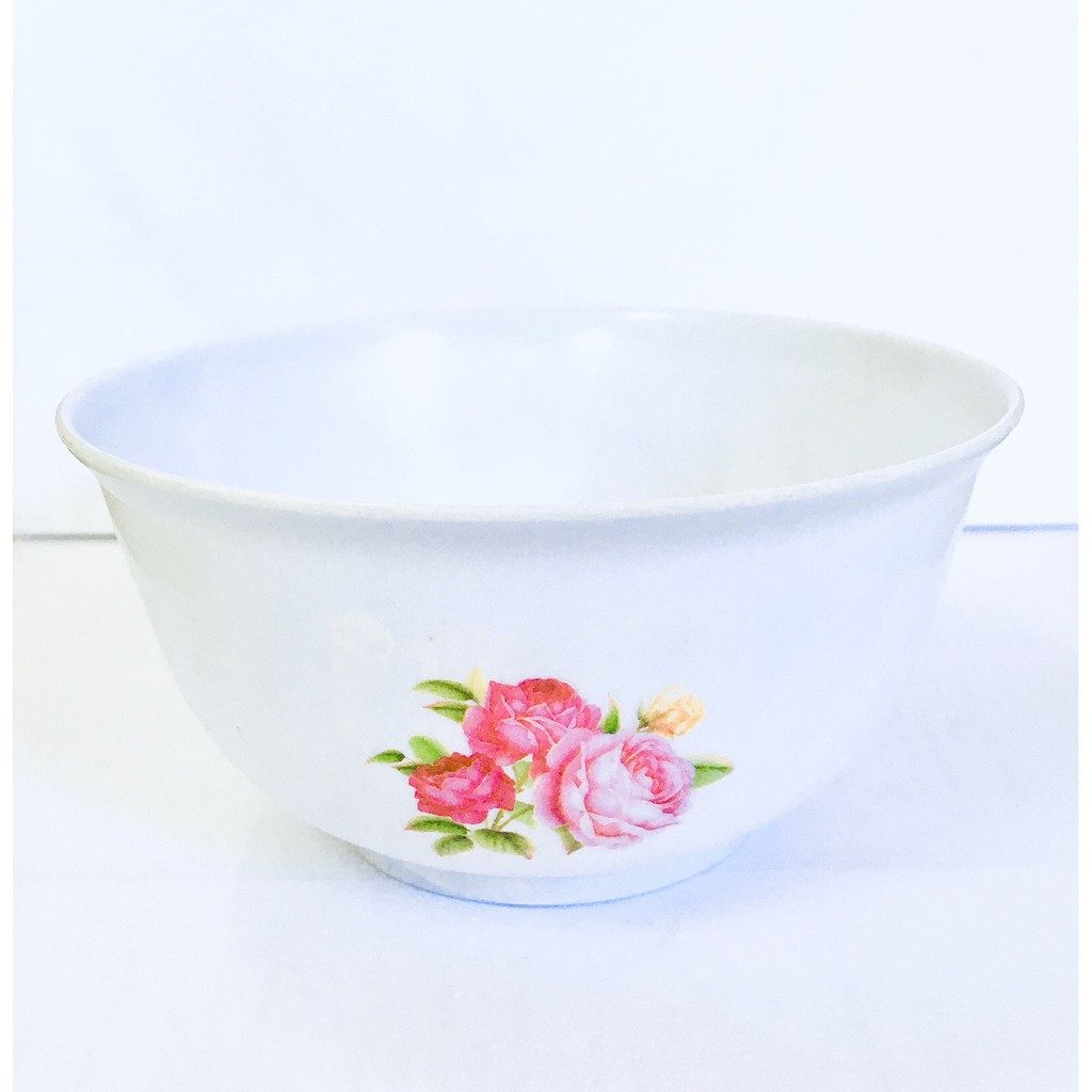 Tableware Bowl Melamine Housewares Rice Soup Noodles Bowl Flowers Melamine Design 11cm