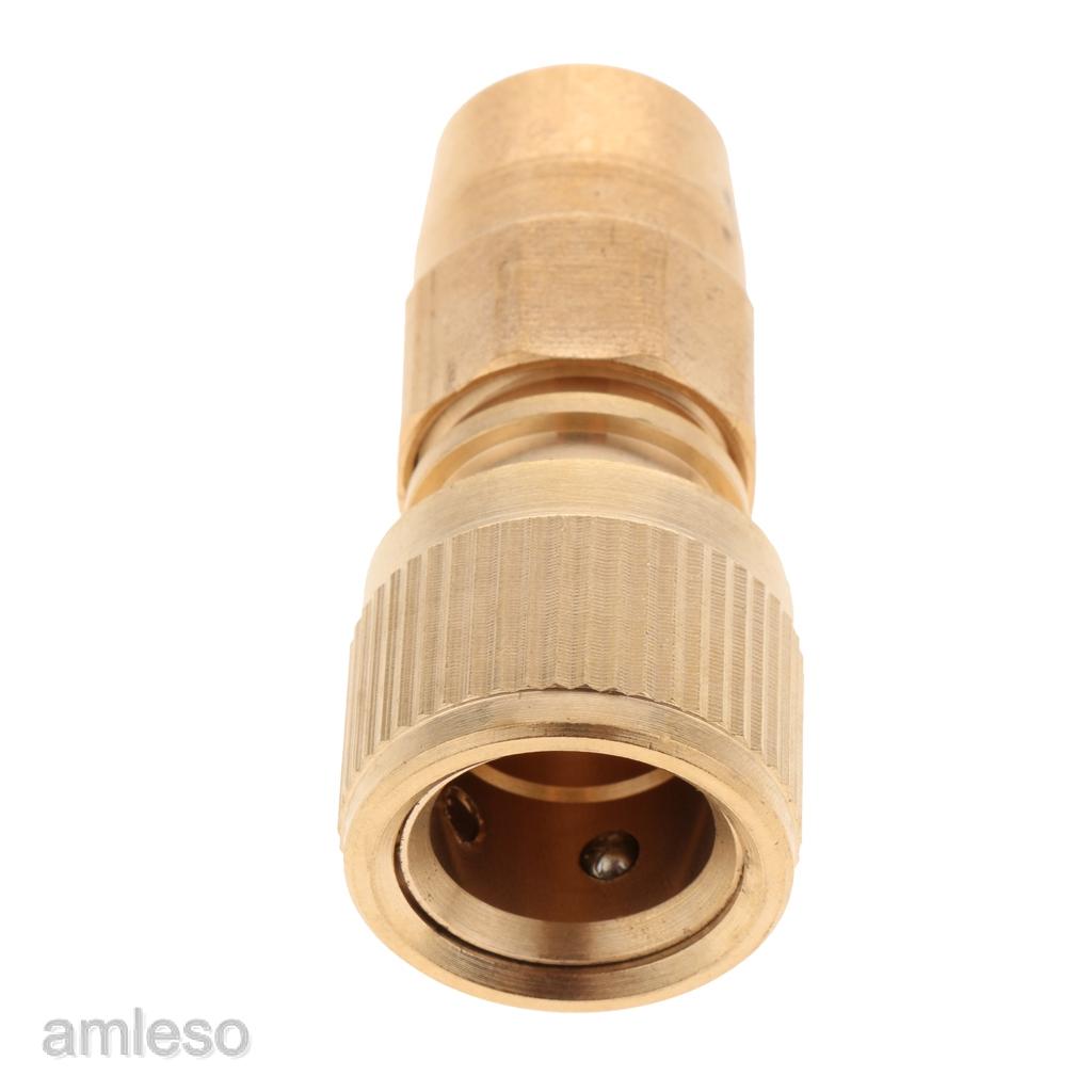 Brass Garden Expanding Hose Joint Male Pipe Adaptor Repair