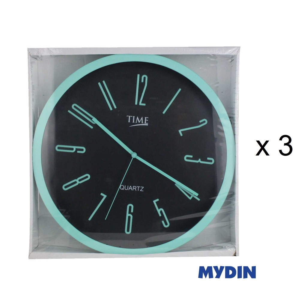 Time Wall Clock (12'' x 3) 181067