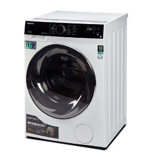 TOSHIBA Inverter Front Load Washer and Dryer with Sensor Dry (11kg/Washer,7kg/Dryer) TWD-BJ120M4M MESIN BASUH