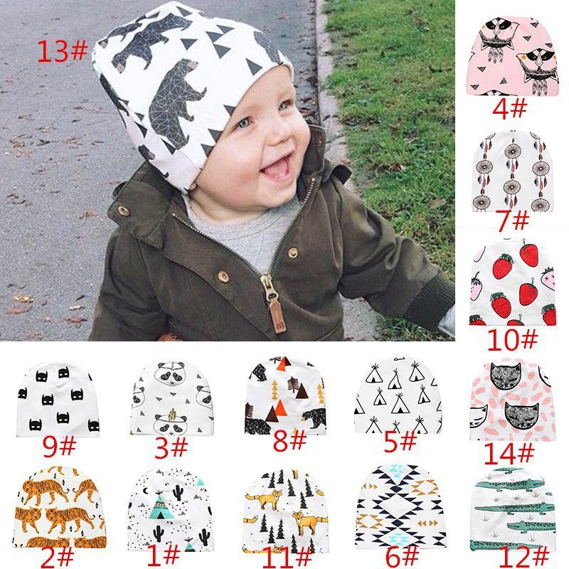 7eb726ca1fe Toddler Newborn Baby Kids Knitted Crochet Beanie Winter Warm Hat Cap ...