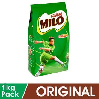 Milo ACTIVE-GO softpack 1kg exp 11/2021  / 1.1kg