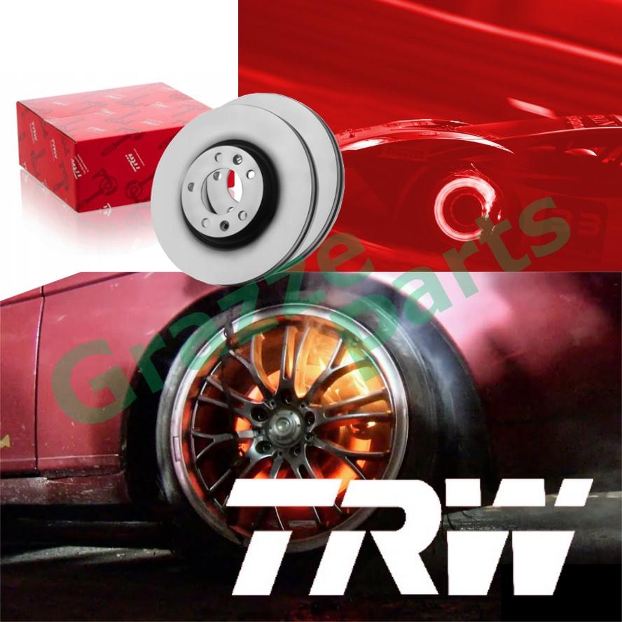 (2 pcs) TRW Disc Brake Rotor Front for DF4019 Nissan Sentra B14 (232mm)