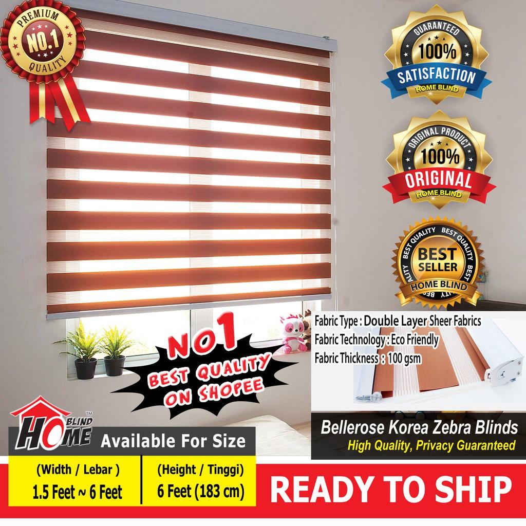 Bellerose zebra blinds/width 20 feet/20 feet/20 feet/20 feet/20 feet ...