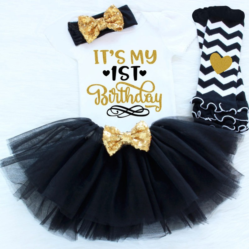 1853fdd7b6a04 Baby Girl Birthday Princess Smooth Clothes Little Kids Birthday Party  Dresses