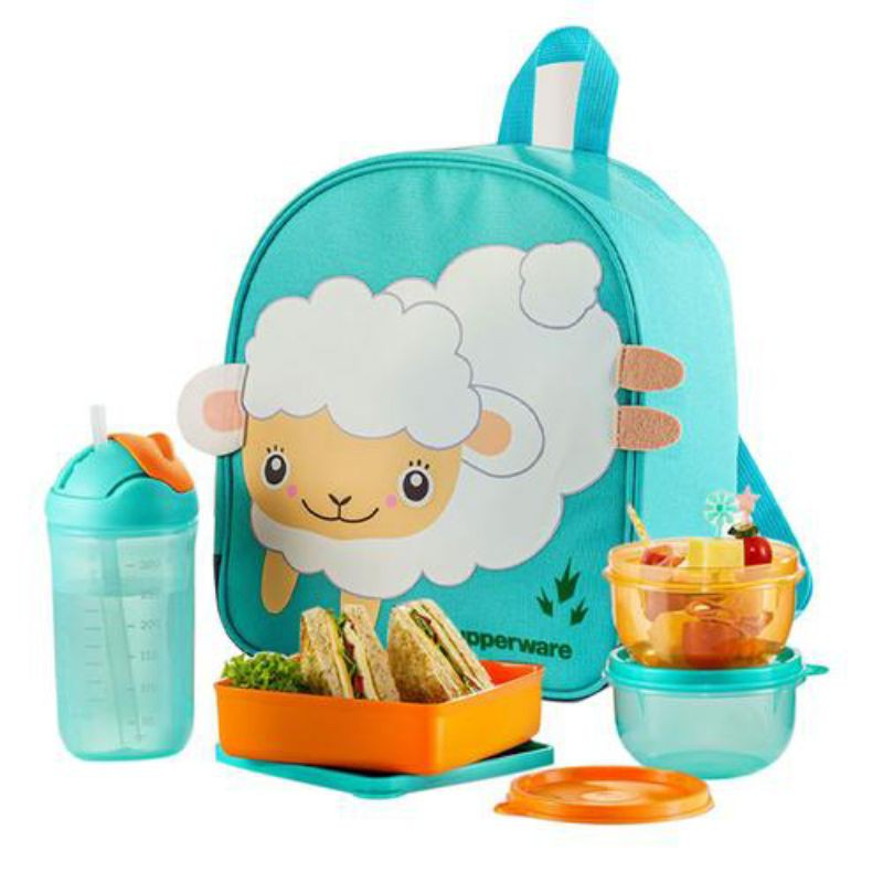 [🔥 READY STOCK 🔥] Bekas Bekal Tupperware Back To School Set(Lunch set)