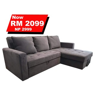 Firenze 3in1 Sofa Bed With Storage