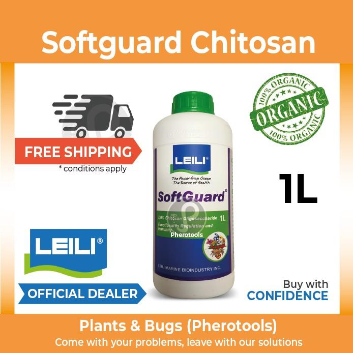Softguard Chitosan 1 Litre - Original Organic Kitosan Biostimulant  fertilizer (LEILI)