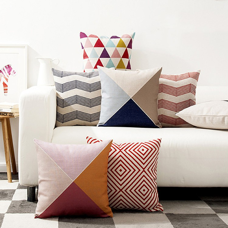 Furniture Direct NORDIC GEOMETRIC CUSHION COVER
