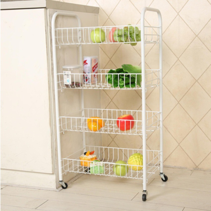 shelving for small bedrooms 4 tier kitchen storage rack bedroom cloth basket with 17052