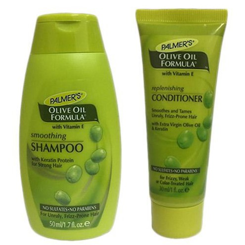 Palmer's Olive Oil Formula Smoothing Shampoo 50ml & Conditioner 30ml (Travel Pack) Exp 12/2020