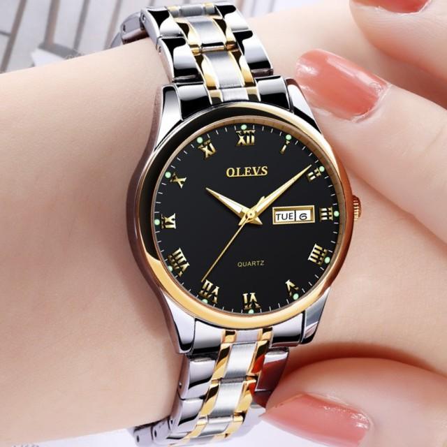 Women Leather Wristwatch Female Quartz Watch Automatic Date Watches Small Dial   Shopee Malaysia