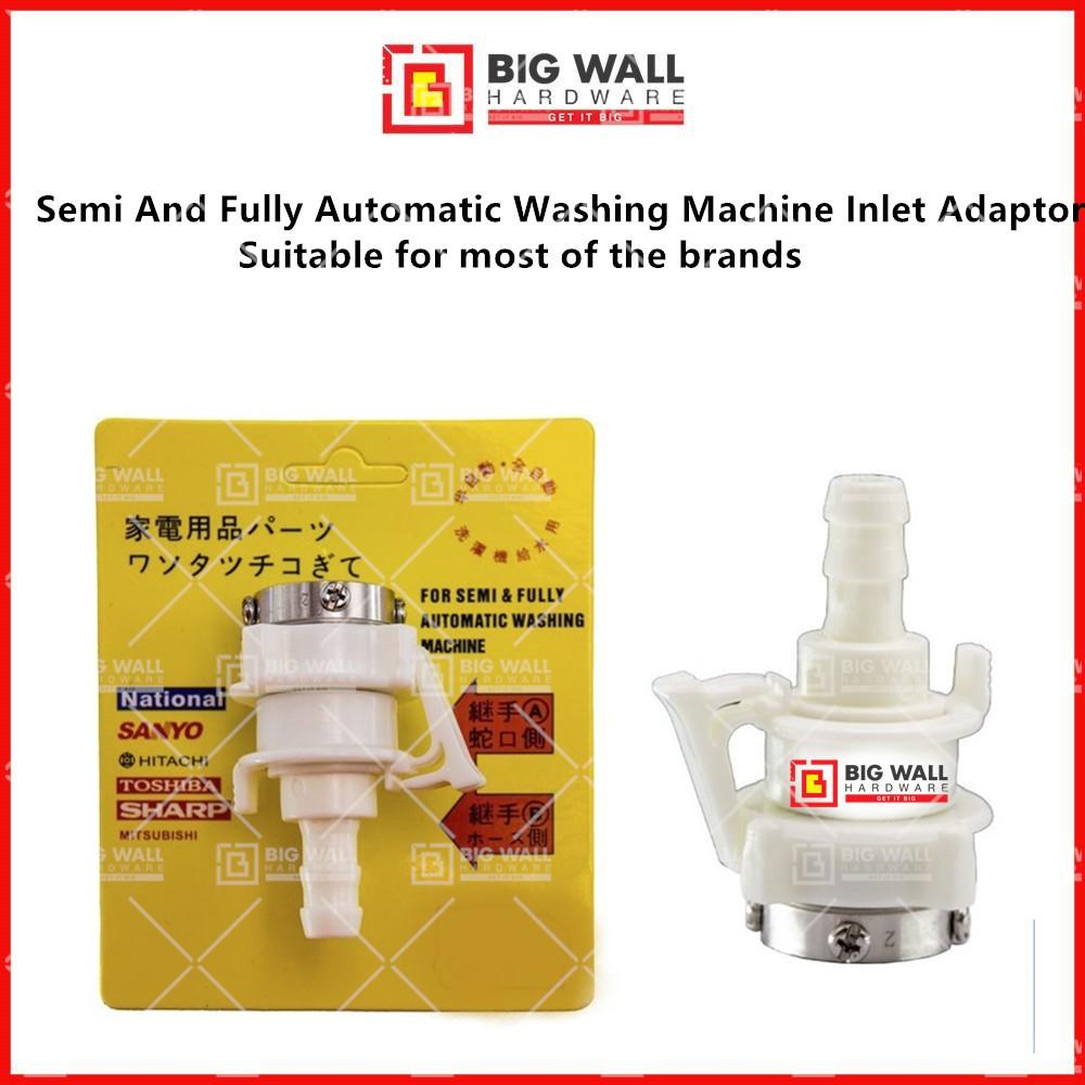 Semi And Fully Automatic Washing Machine Inlet Adaptor ( A + B ) Big Wall Hardware