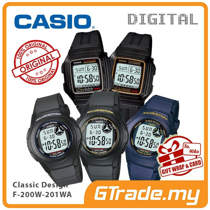 CASIO LADIES KIDS YOUNG DIGITAL WATCH JAM CASIO ORI KANAK-KANAK LW-200 |