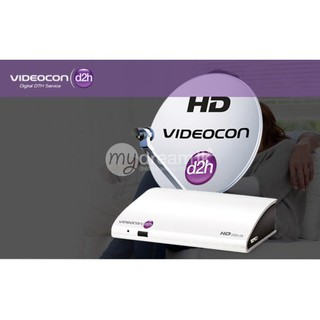 Recharge Videocon D2h Packages
