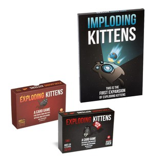 Exploding Kittens Imploding Kittens A Card Game For People Who Are Into Kittens And Explosions Board Game Toys For Kids Shopee Malaysia
