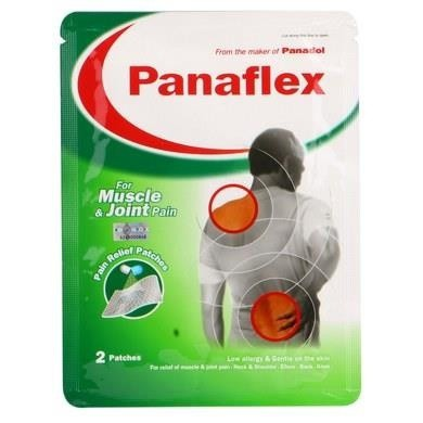 Panaflex Pain & Relief Patch 4Pcs