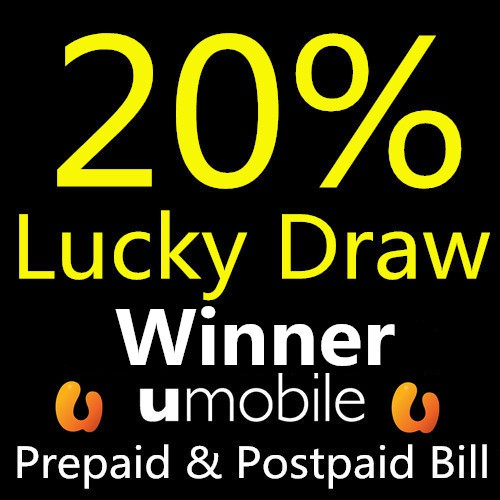 Umobile RM25-RM150 Reload Top up Prepaid & Postpaid