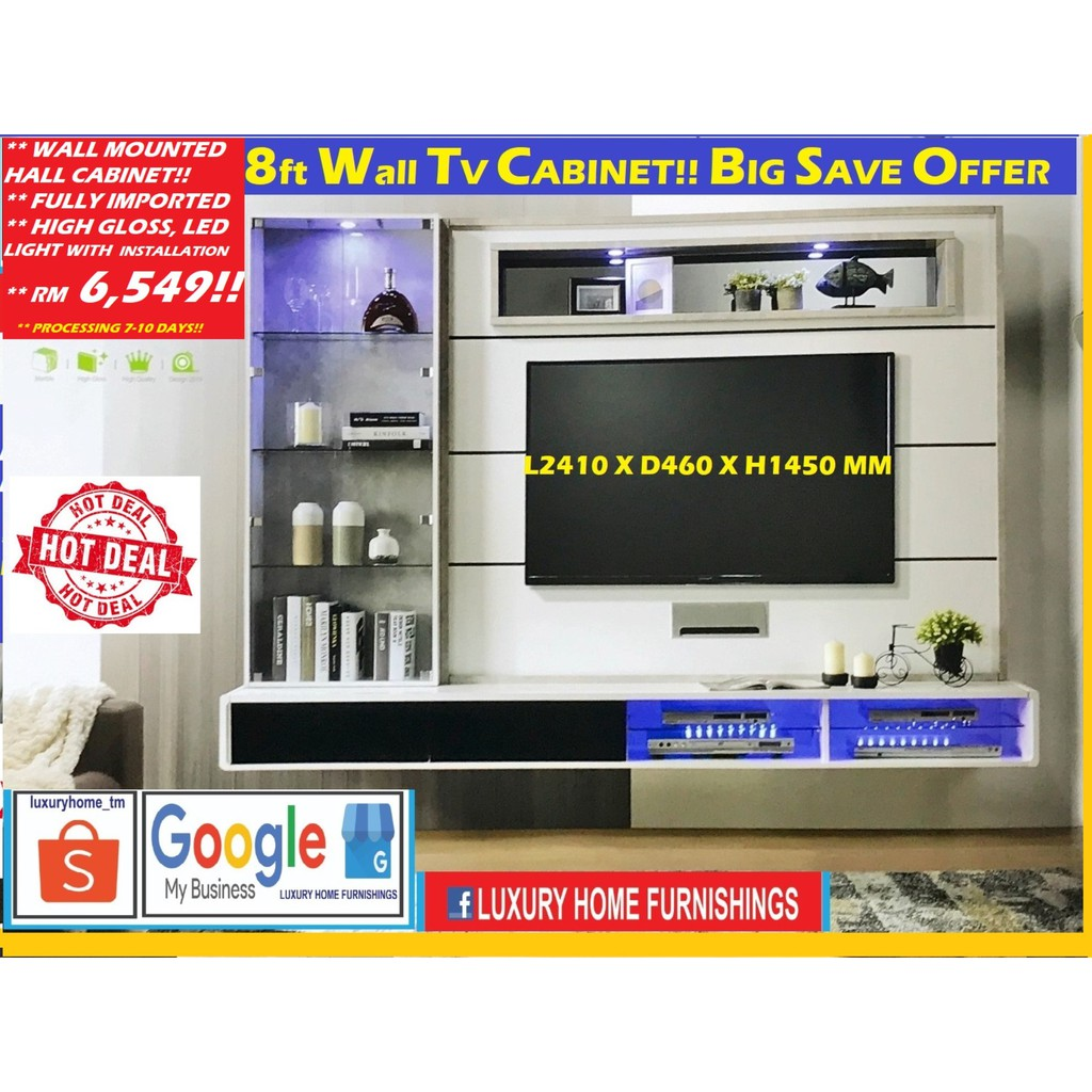 Wall Mount TV Cabinet!!
