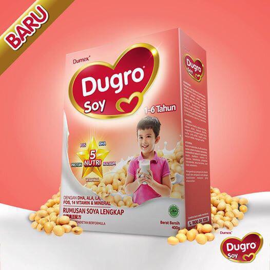Dugro Soy 1-6 yrs (400g) EXP. 05/2021