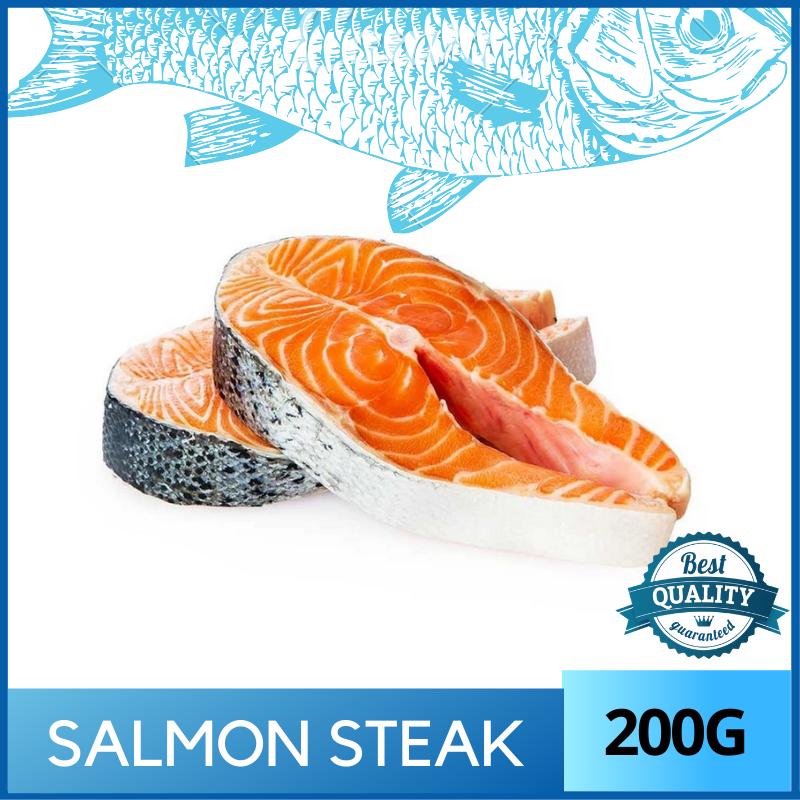 Norway Salmon Steak - 200g Vacuum Packed