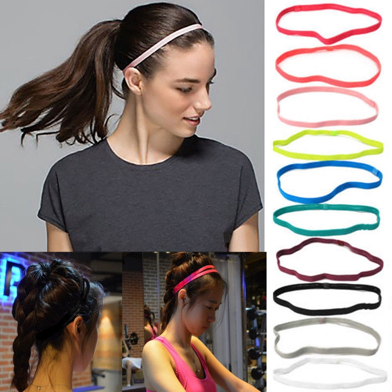 Sports Yoga Stretch Headband Women Man Elastic Band Hair Rope Hair