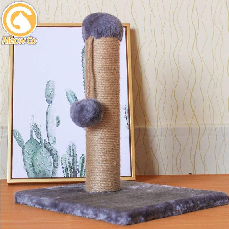 Cat Scratch Pole /Cat Scratching Post/Scratcher Tree House Condo Playhouse Scratch Board Anak Kucing Cakar Mainan Kitten