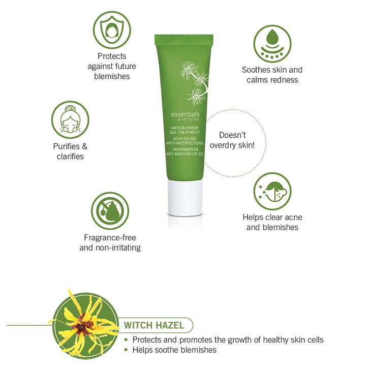 essentials by ARTISTRY Anti-Blemish Gel Treatment