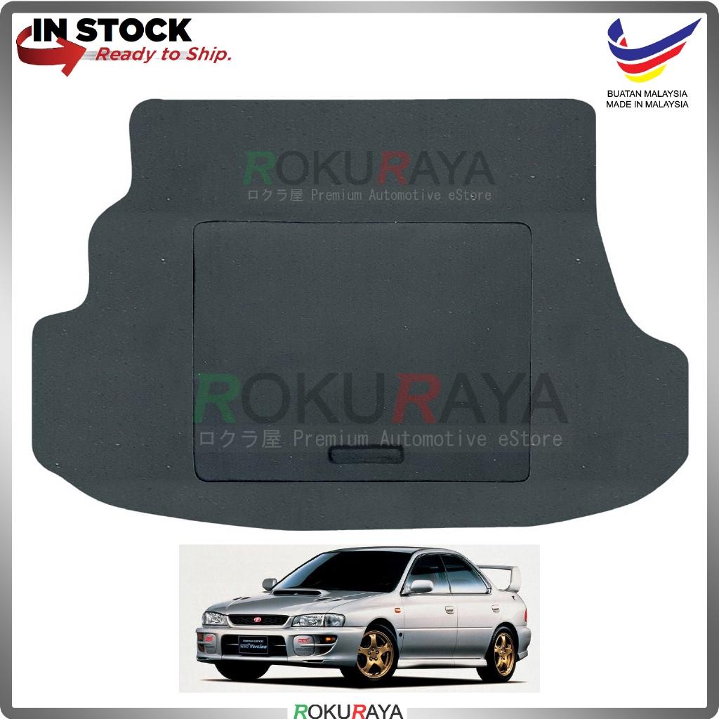 Subaru Impreza Sedan (1st Gen) 1992-2001 15mm Rear Bonnet Spare Tyre Tire Tayar Cover Back Hard Board Papan (Carpet Wrap