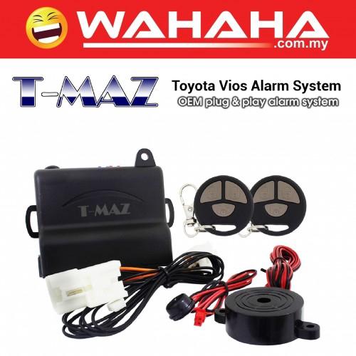 TMAZ SM-2505A TOYOTA VIOS OEM PLUG AND PLAY CAR ALARM SYSTEM