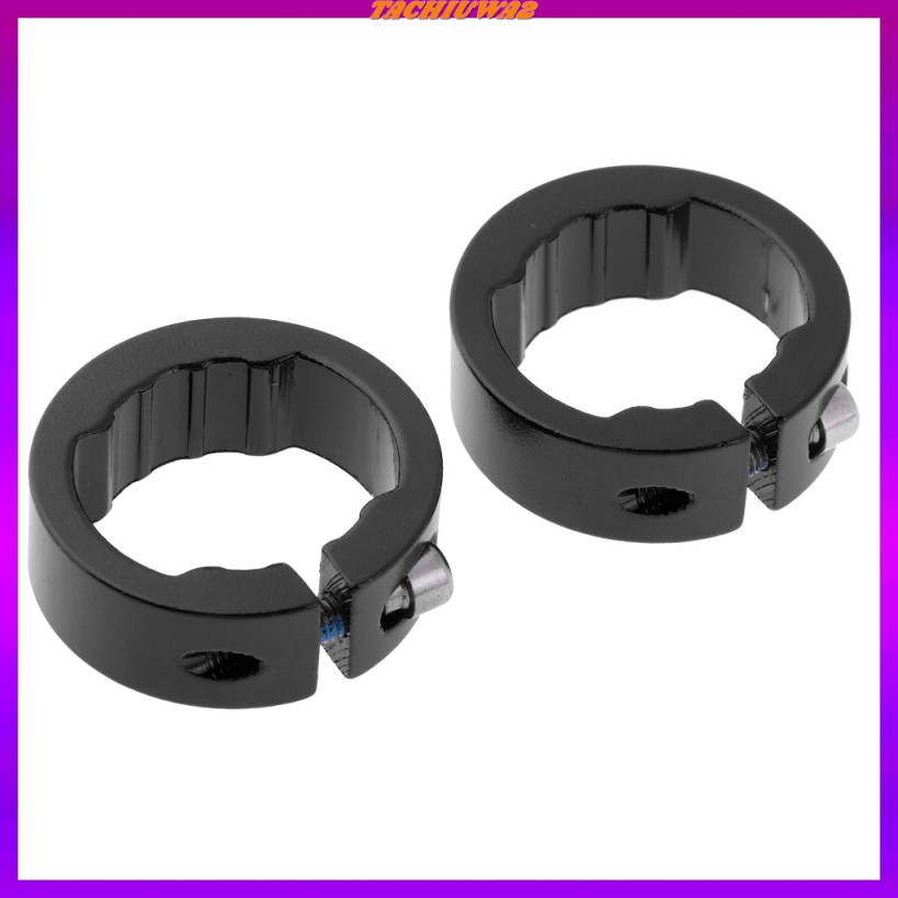 Details about  /2pcs Lock Ring for Bicycle Bike Handlebar Grips Locking On Cycle Handle Bar
