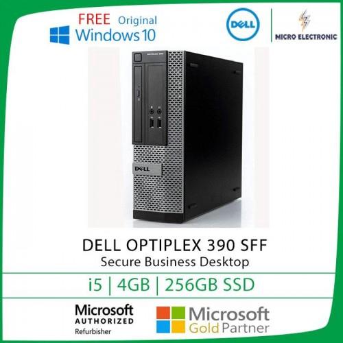 Dell Optiplex 390 SFF Desktop Intel Core i5 4GB 256GB SSD Windows 10  Refurbished