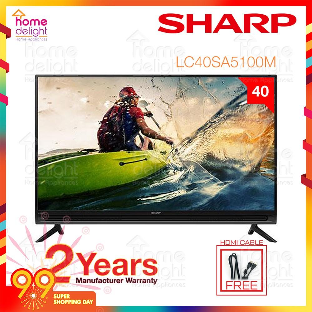 "Sharp LC40SA5100M Basic Full HD TV 40"""
