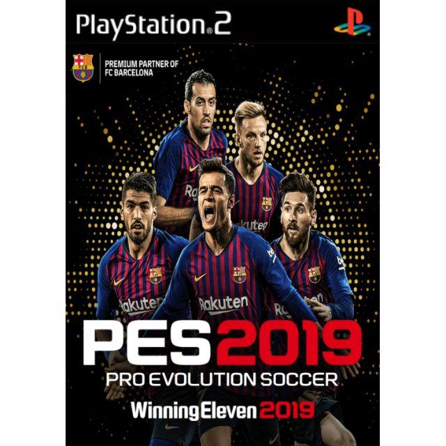 PES 2019 Pro Evolution Soccer PS2