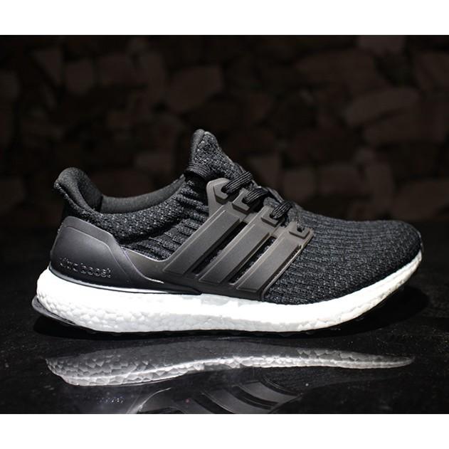 936687feb2b2e original adidas ultra boost 3.0 black men Breathable running shoes free  shipping