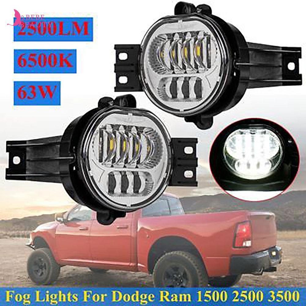 9006 Fog Light Bulbs Dual 3000K 6000K for 2002-2008 Dodge Ram 1500 2500 3500