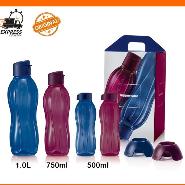 Tupperware The Sapphire Eco Colection~ family Bottle~sapphire colour (new)