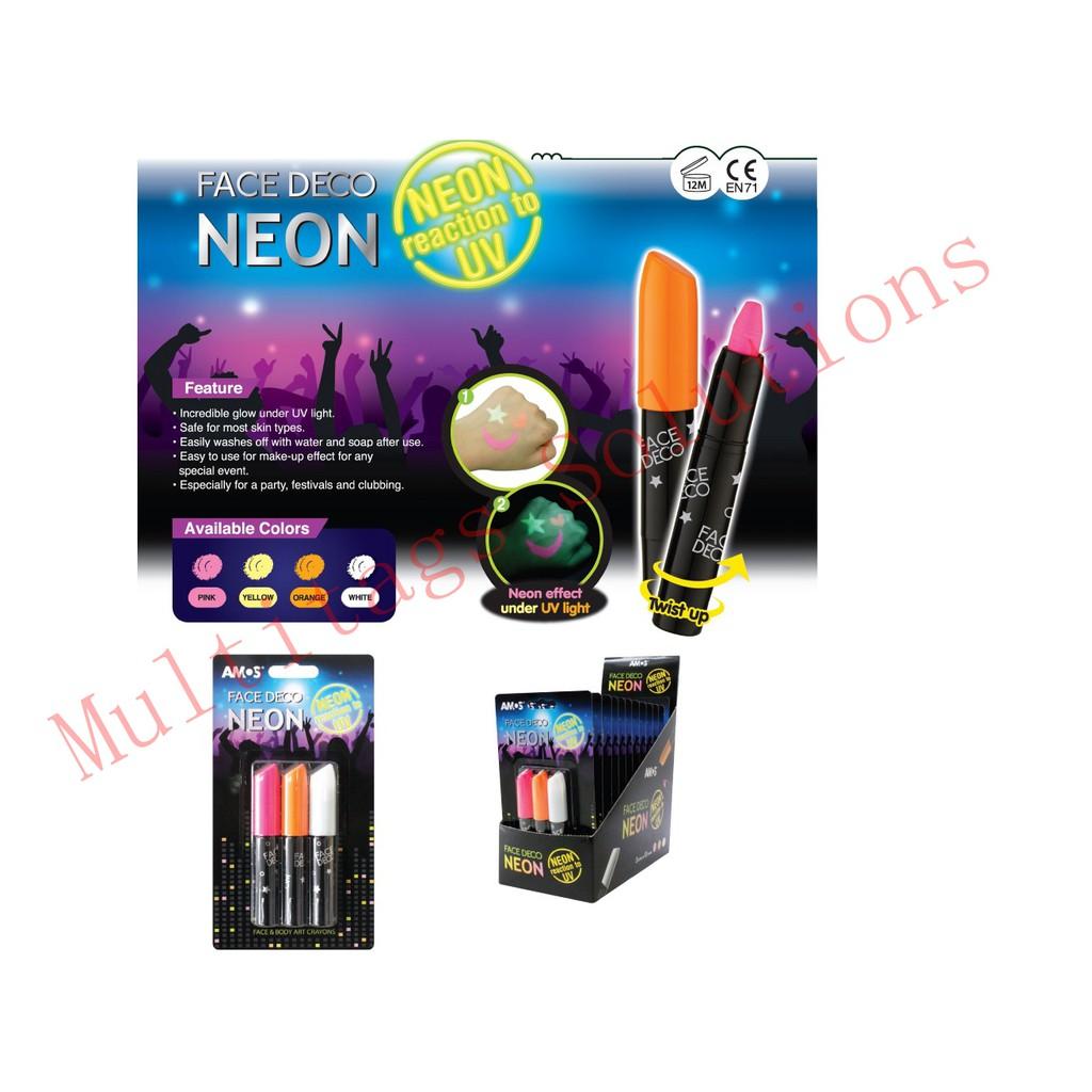 Amos Neon Face Deco 3 color