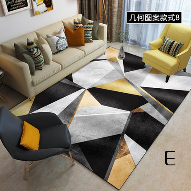 GDeal Living Room Big Coffee Table Blanket 3D Bedroom Bedside Carpet Baby Crawling Floor Mat 120cm x 80cm